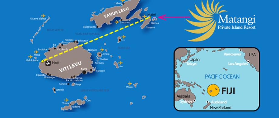 Fiji Outer Islands Map